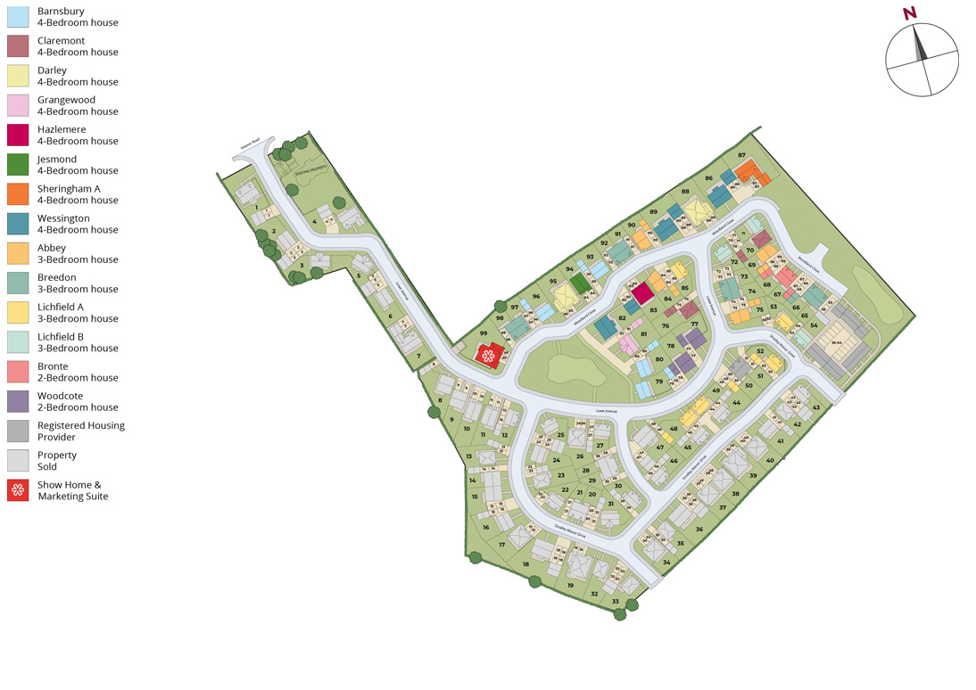 smalley manor final phase site plan