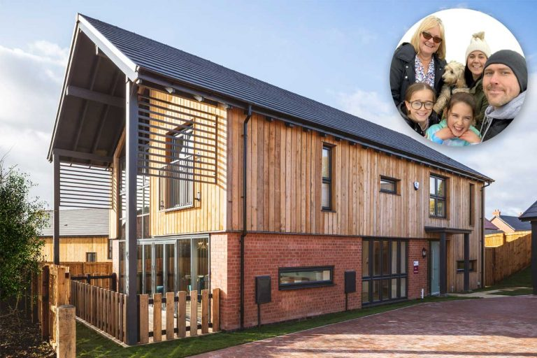 Love at first sight for one couple meant they snapped up Peveril's Woodcroft show home