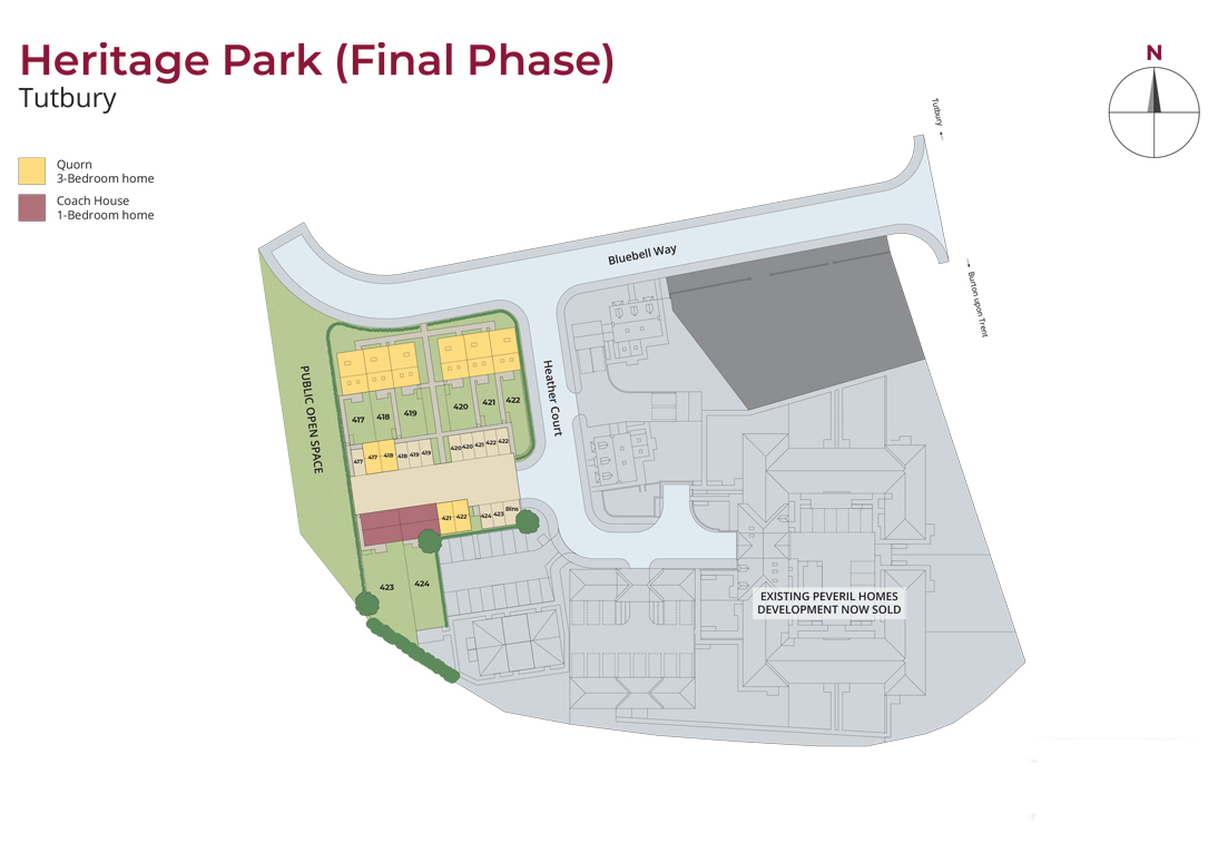 heritage park final phase site plan