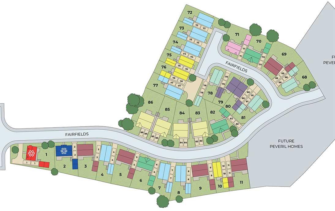 Fairfields Site Plan
