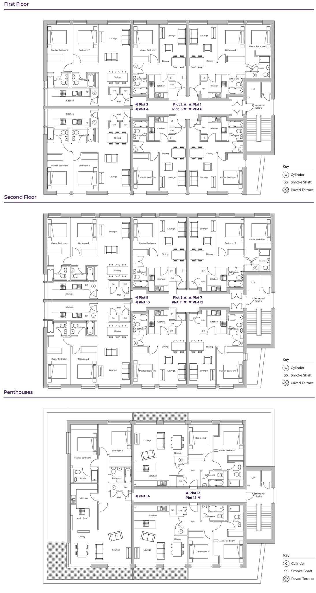 Myford Court floor plan