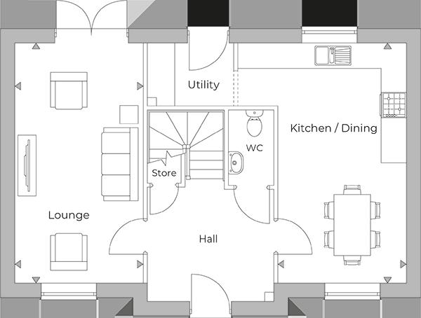 Wymeswold Ground Floor plan